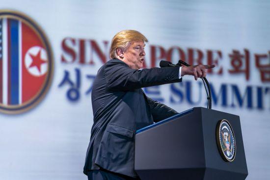 """트럼프 """"G7회담 잘 마무리…균형 맞추기 위해 관세 매긴 것"""""""