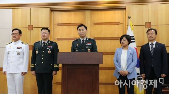 [포토]남북 장성급회담 브리핑하는 김도균 국방부 대북정책관