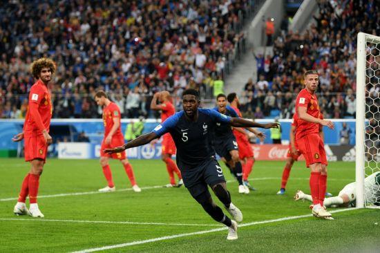 [러시아월드컵] '움티티 결승골' 프랑스, 벨기에 누르고 12년만에 월드컵 결승행