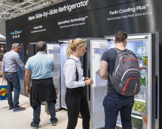 [IFA 2018]삼성전자 냉장고, 영국서 '최고의 제품' 호평