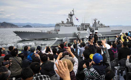 <h1>[양낙규의 Defence Club photo]미리 본 국제관함식</h1>
