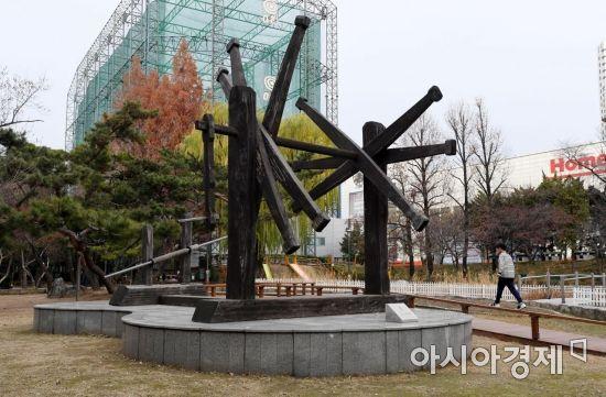 [골목길 핫플레이스]5.16 쿠데타 벌어졌던 역사의 현장, '문래근린공원'