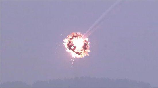 방어유도탄 명중 장면 (사진=방위사업청)