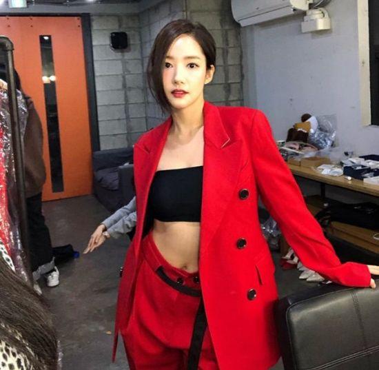 [포토] 박민영 '강렬한 레드'