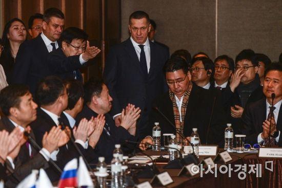 [포토]러시아 부총리와 한국기업 다이얼로그