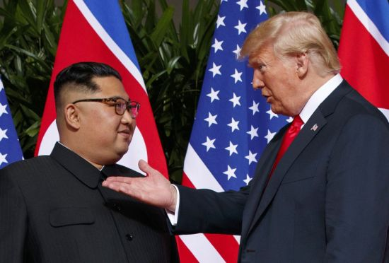 """""""김정은, 내 아이들이 핵 지닌 채 평생 사는 걸 원하지 않아"""""""