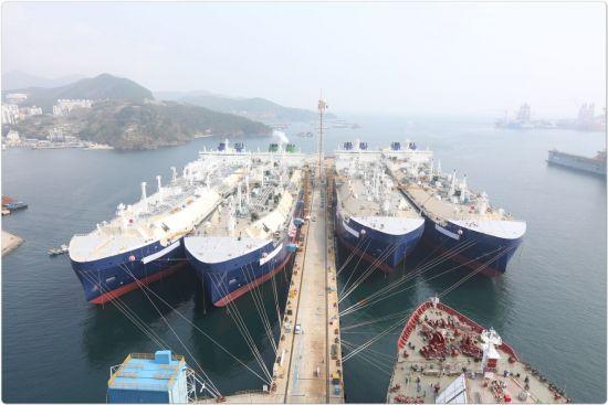대우조선해양, 1Q 영업익 1996억원…5분기 연속 흑자