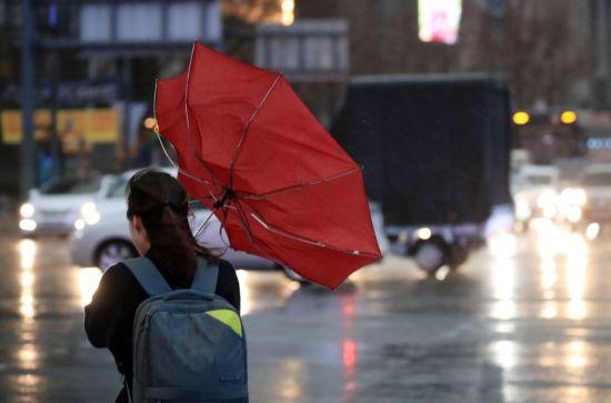 """[내일 날씨]""""전국 하루 종일 비…때이른 더위 한풀 꺾인다"""""""