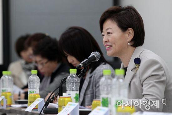 [포토] 발언하는 진선미 여가부 장관