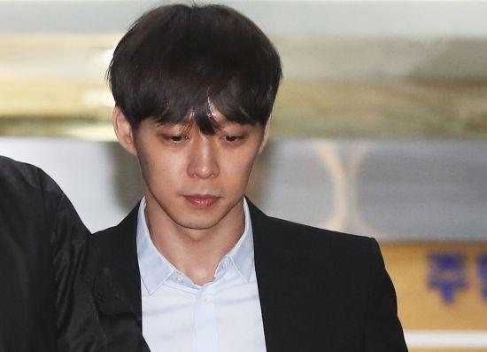 [속보]박유천, 국과수 마약검사서 '양성반응'…다리털서 필로폰 검출