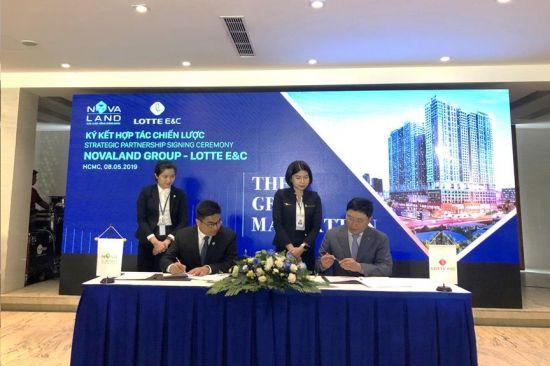 롯데건설, 베트남 노바랜드 그룹과 전략적 파트너쉽 협약 체결