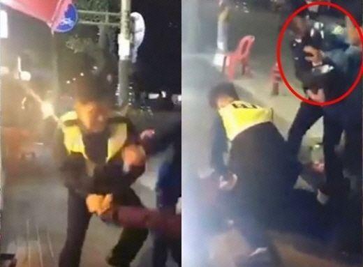"""""""약한 경찰 한심해"""" vs """"여경 혐오"""" 대림동 여경 논란"""