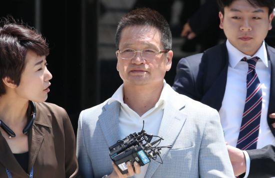 """법원, '강간치상' 윤중천 구속영장 발부…""""혐의 소명·도주우려""""(종합)"""
