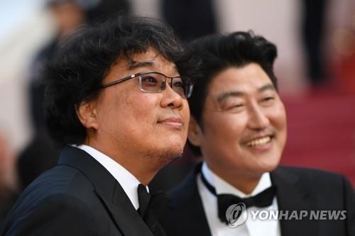 """한국영화 칸영화제 진출 35년 만에 정상…봉준호 """"판타지 영화 같다"""""""