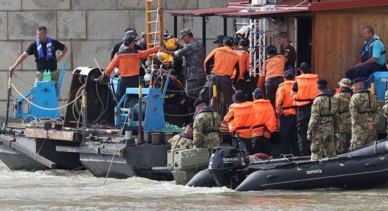 헝가리 침몰 유람선 '허블레아니호' 인양, 이르면 6일 시작