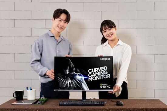 삼성전자, 신형 커브드 게이밍 모니터 공개