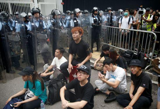결전의날 12일 홍콩 초긴장…시위대 총출동(종합)