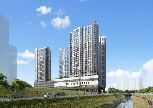 한화건설, '수지 동천 꿈에그린' 복합단지 분양 소형아파트 구조 투룸 오피스텔 인기