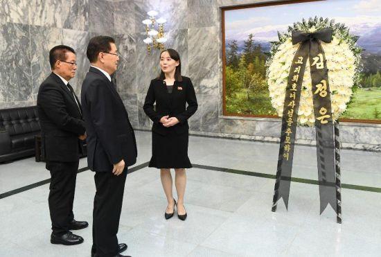 """北 """"이희호 여사 민족화합 뜻 받들어 남북협력 계속해야""""(종합)"""