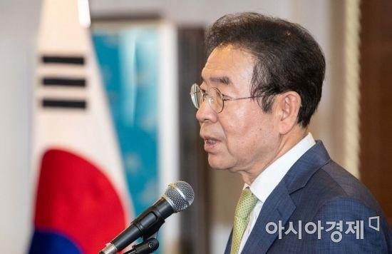 [포토]박원순 서울시장 축사