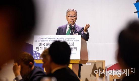 [포토]개회사하는 김창준 이사장