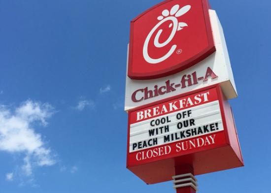 일요일에 문 닫아도 KFC보다 잘나가는 미국 국민치킨 '칙필레'