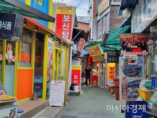 [르포]텅텅 빈 보신탕집, 손님 꽉 찬 마라탕집…확 달라진 초복 풍경(종합)
