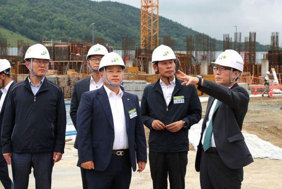 LH, 여름철 장마·폭염 대비 건설현장 안전관리 점검