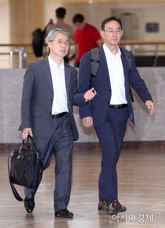 [포토] 일본 향하는 수출규제 관련 실무자들