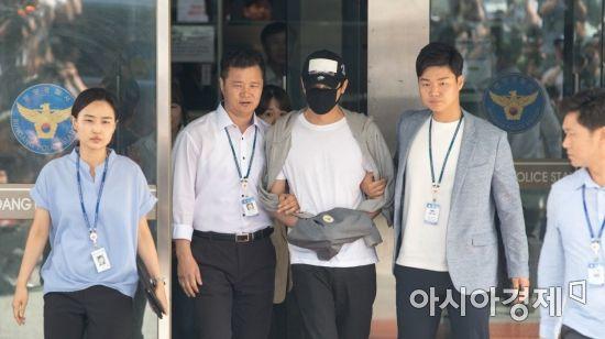 [포토] 배우 강지환 영장실질심사 앞둬