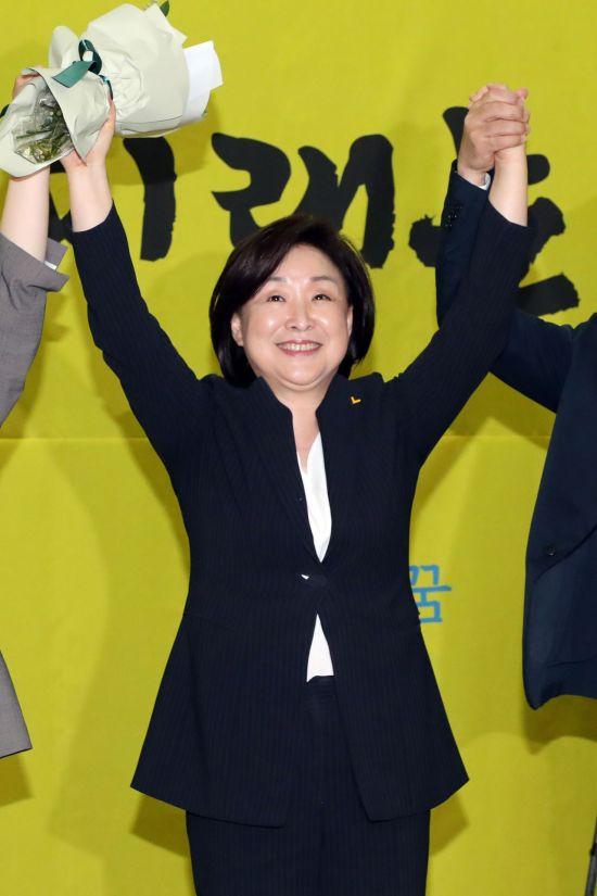 """한국당, 심상정 당대표 취임에 """"막말 사과부터"""" 발끈"""