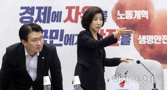 """나경원 """"文대통령, 對日관계서 강경 대응은 바람직하지 않아"""""""