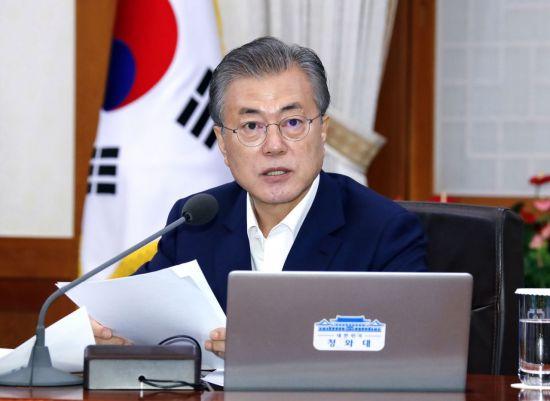"""靑 """"日 요구하는 제3국 중재위 구성, 수용 불가""""(종합)"""