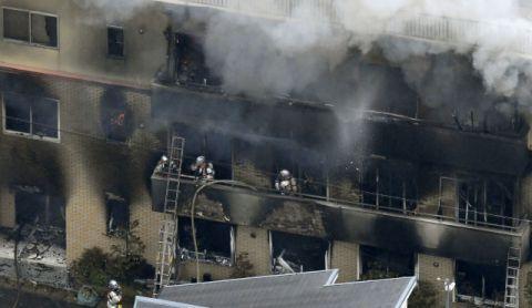 日 '쿄애니' 스튜디오, 방화로 화재…최소 10명 사망·40명 부상