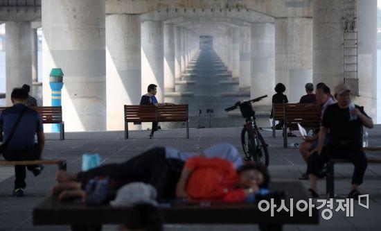 [포토] '여름엔 여기가 명당'