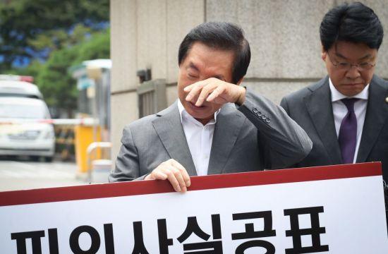 검찰, 'KT 이석채 리스트' 공개…김성태 '중요도 최상, 요주의 인물'