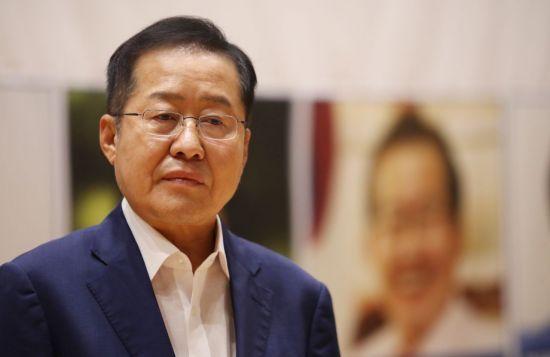"""홍준표 """"조국 낙마시킬 자신 없으면…인사청문회 보이콧하라"""""""