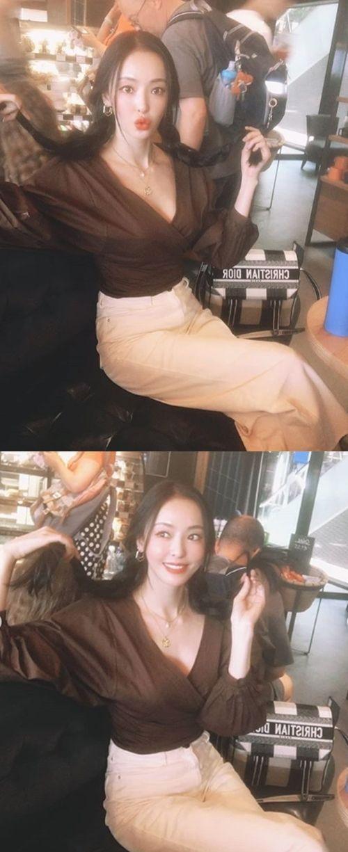 """[포토] """"삐삐"""" 이다희, 길쭉한 몸매에도 깜찍한 매력"""