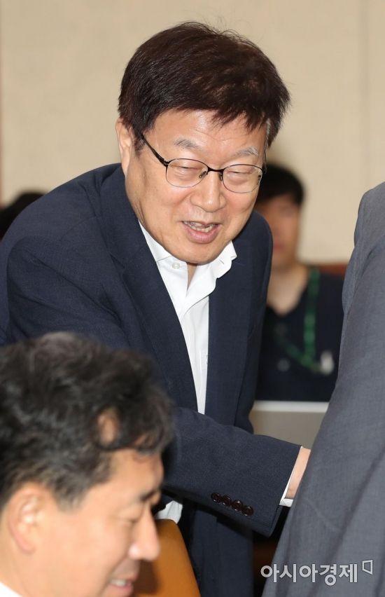 [포토]경제활력대책회의 참석한 김영주 무역협회장