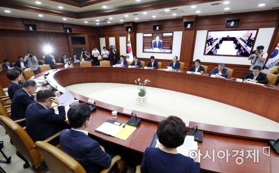 [포토]홍남기 경제부총리 주재 경제활력대책회의