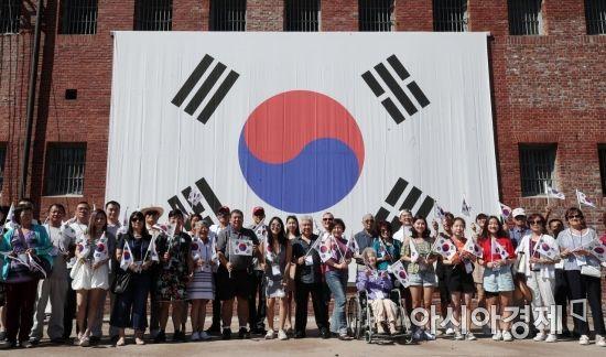특별한 광복절…'1400회 수요집회'·'아베 규탄 집회' 등 전국서 봇물