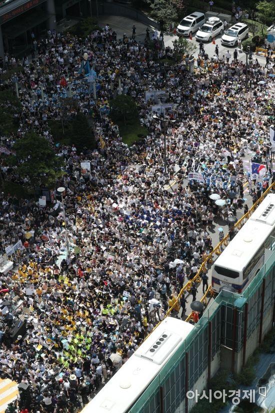 [포토]일본군 성노예제 문제해결을 위한 수요시위