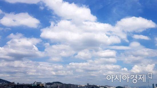 [포토] 흰구름 '뭉게뭉게'