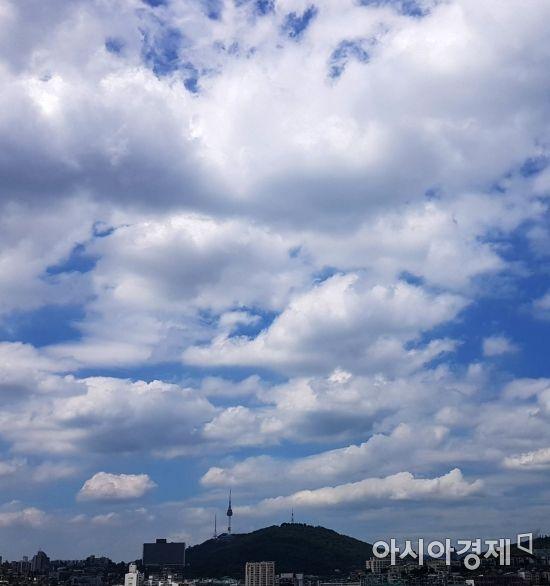 [포토] 남산위에 푸른 하늘