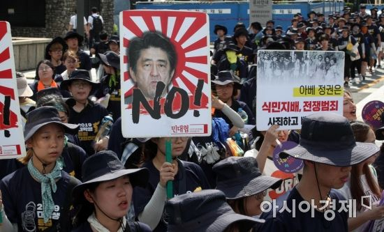 日, 도쿄 이어 오사카서도 'NO 아베' 집회 개최