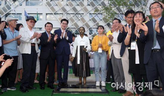 [포토] 강동구 평화의 소녀상 제막식