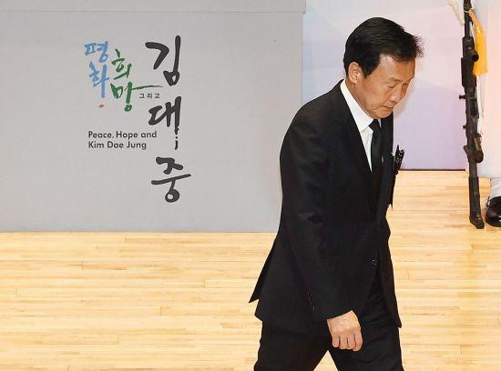 """與野, DJ 10주기 추모…文의장 """"김대중-오부치 선언 '韓日 미래비전' 제시"""""""
