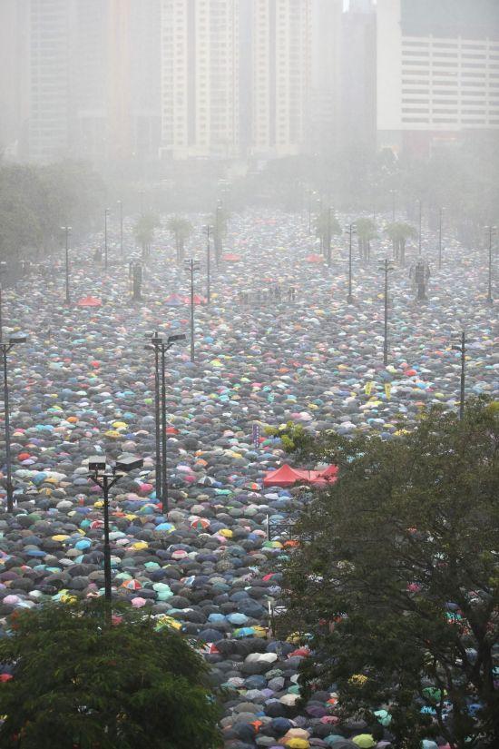 """홍콩 정부 대변인 """"폭력 시위 용납 않겠다"""""""