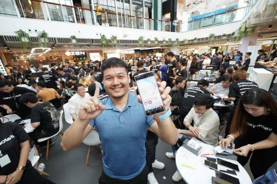 삼성 '갤럭시노트10' 한국·미국·중국 70여개국 공식 출시