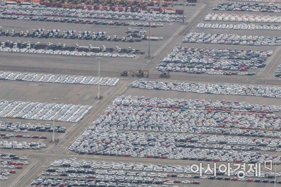 [포토]수출 앞둔 자동차